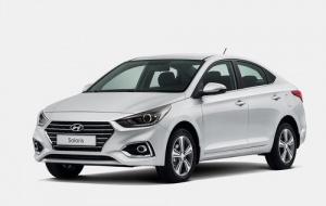 Hyundai Solaris 2019 год